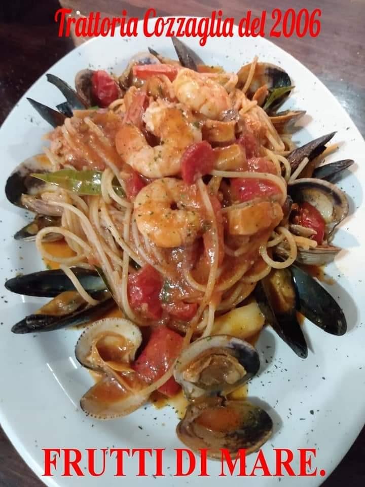 Frutti di Mare con Spaguetti