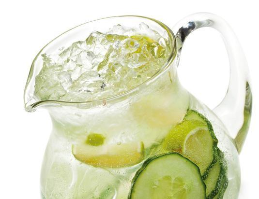 Jarra de agua de Frutas