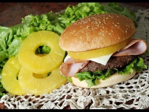 Hamburguesa Hawaiana