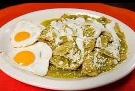 Enchiladas Huevo