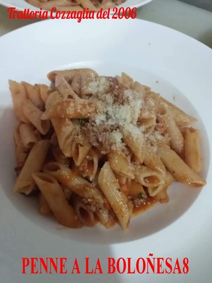 Penne a la Bolognese o Spaguetti