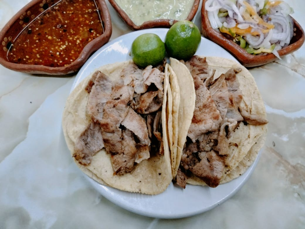 Taco de Bistec ( 1 pieza )