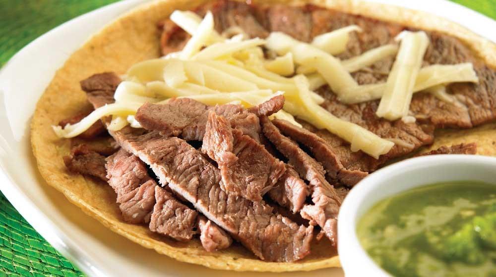 Taco de bisteck