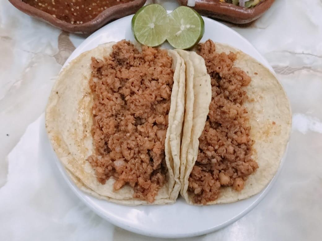 Taco de Longaniza ( 1 pieza )